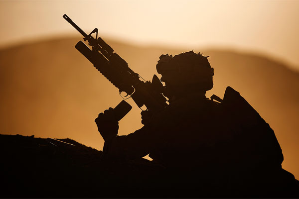 The US Marine Corps has made a list of 14 warfighting challenges that will dictate the shape of its future training and prepare Marines for the next 20 years of warfare. (Marine Corps/Reece Lodder)