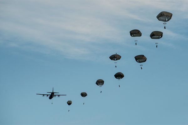 18th Airborne Sees Plenty of Action in Fight against IS