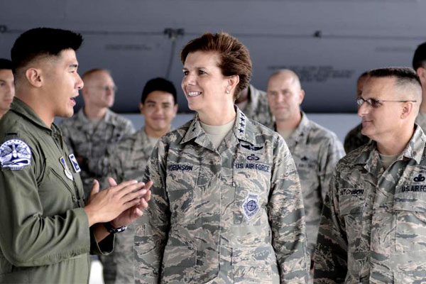 How America S Highest Ranking Woman In Uniform Defied The