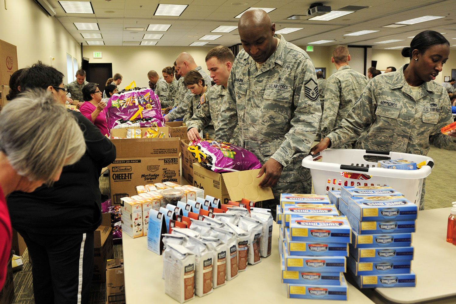 Should More Troops Become Eligible For Food Stamps