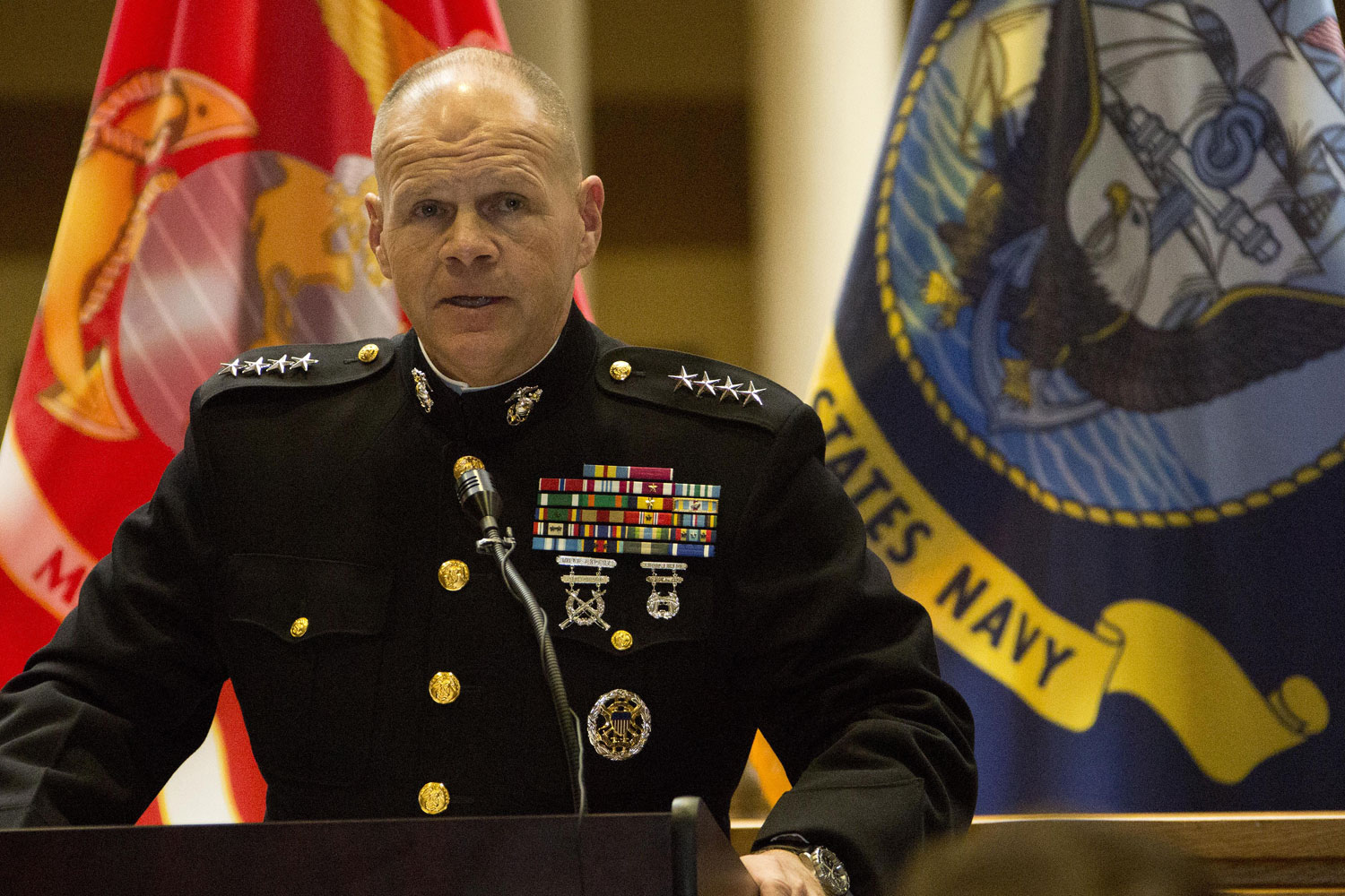 Top Marine: 'No Delusions' About Difficulty of Afghanistan Mission