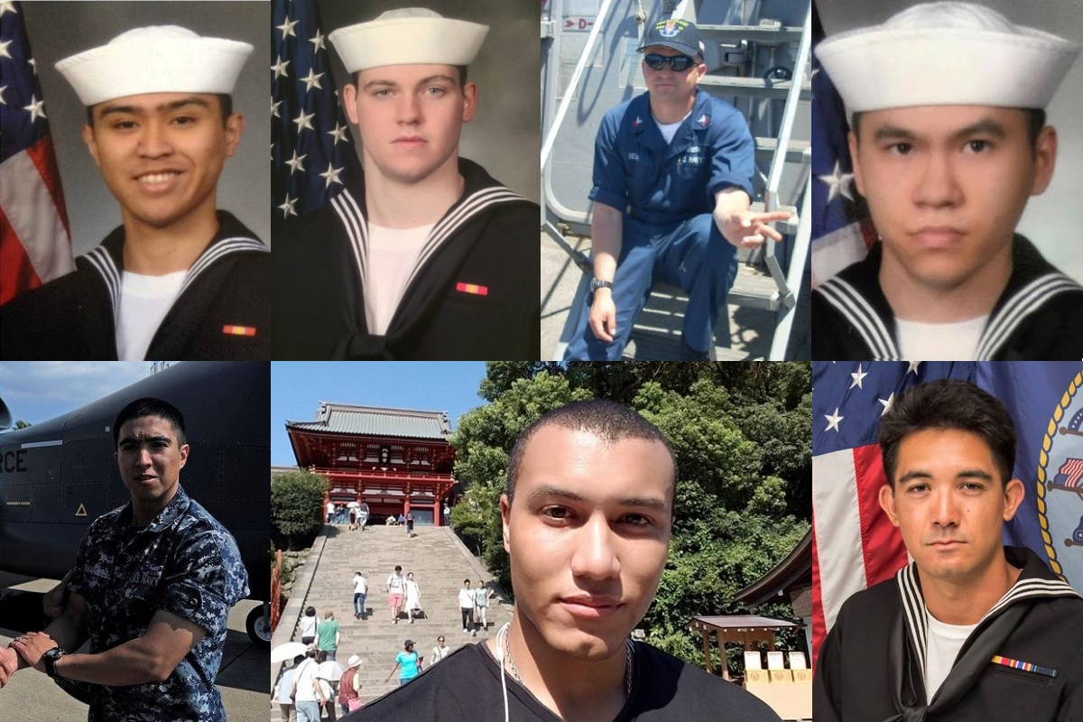 Stories of Fitzgerald Sailors Killed in Destroyer-Container Ship Crash