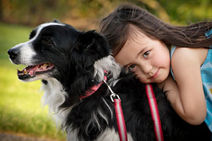 Pets help kids deal with stress of military life