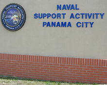 naval support activity panama city is located on beautiful st andrew