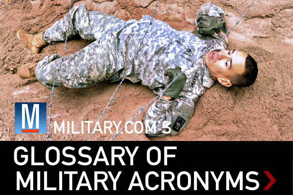 Military.com glossary of military acronyms.