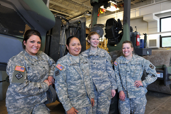 Women Soldiers Take on Unexpected Roles | Military.com