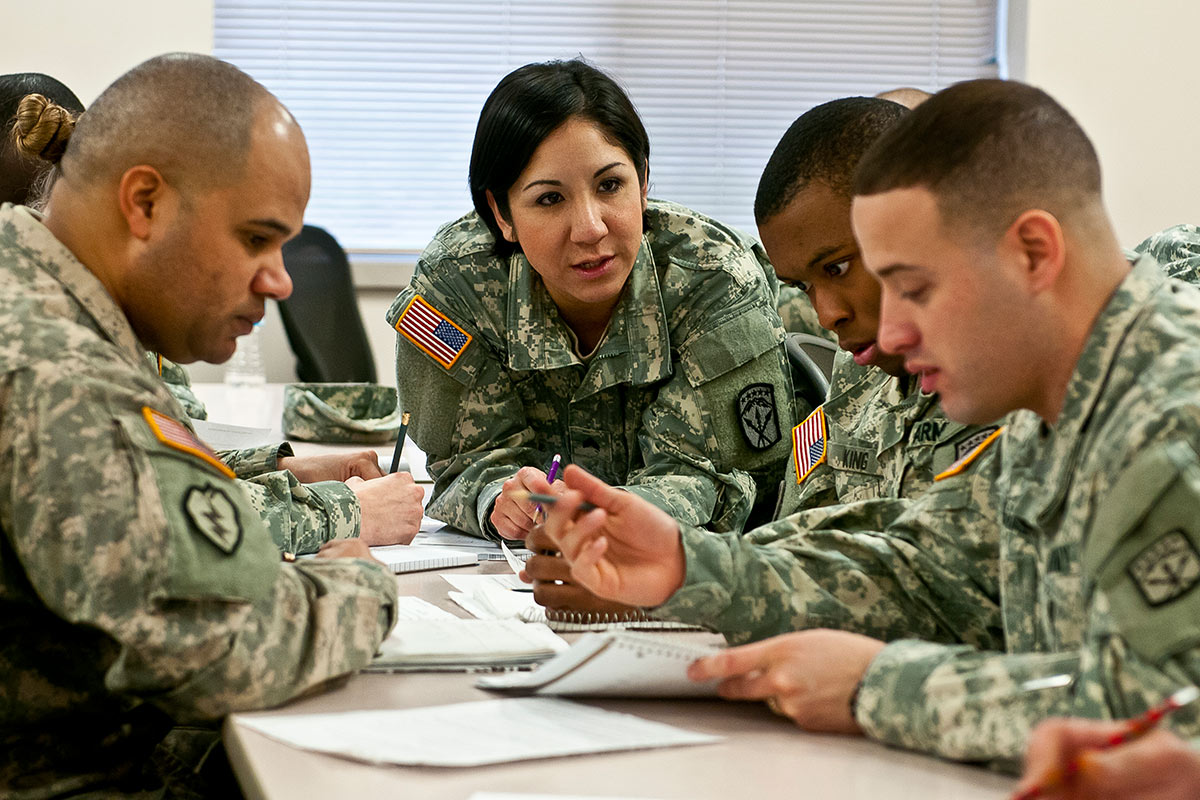 women offers military skills as good as men do David gilkey/npr  best in the world is that we draw on the talents and skills of our people  to dispel the idea — held by some men and women in the military, he said — that women might .