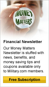 Get the Money Matters Newsletter