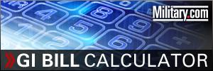 GI Bill Calculator