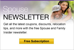 Get the Spouse Newsletter