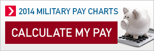 2014 Military Pay Calculate Your Pay Promo 300x100