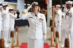 navy change of command