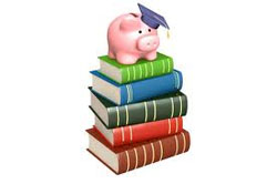 pig on books 250x166