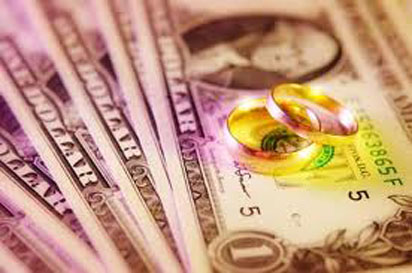wedding rings money 412x274