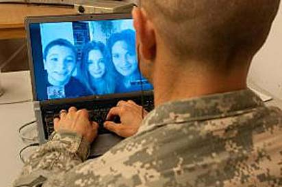 Keeping in touch while deployed