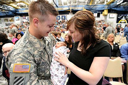 Guard Spouses Aren't 'Real' Army Wives?