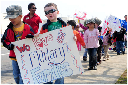 Military Family Support Parade