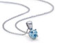 blue nile wedding blue diamond necklace