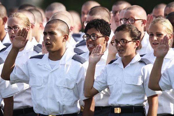 West Point induction