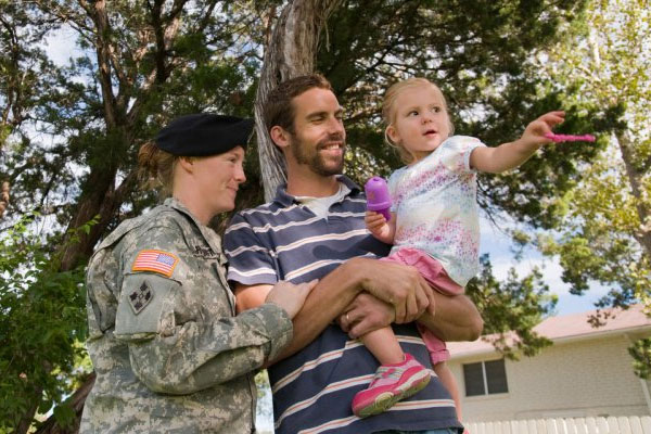 Military families don't need extraordinary acts of thanks -- just a helping hand. U.S. Army MWR photo