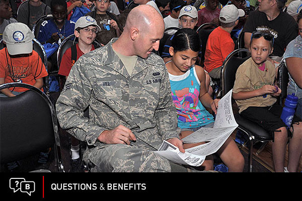 What benefits the children of divorced service members receive depends on a number of factors.