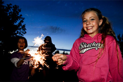 Sparklers at Minot AFB