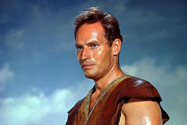 Charlton  Heston headshot.