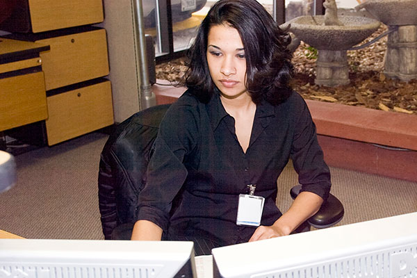 administrative assistant (U.S. Department of Energy photo)