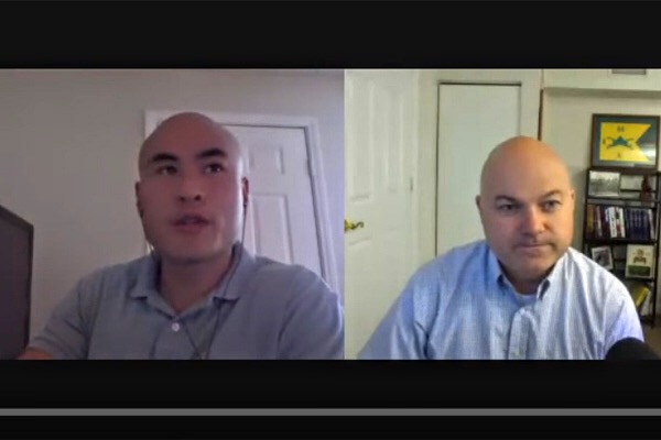 Scott Fussell and Byron Chen talk military transition