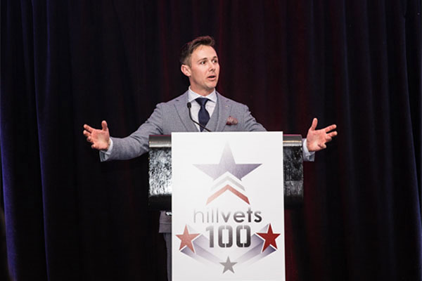 Justin Brown, Navy veteran and founder of HillVets