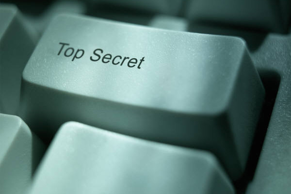 Top Secret key.