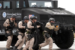 Homeland Security Special Response team.