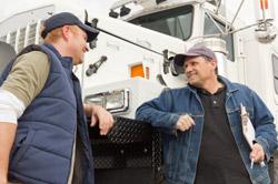truck driver conversation