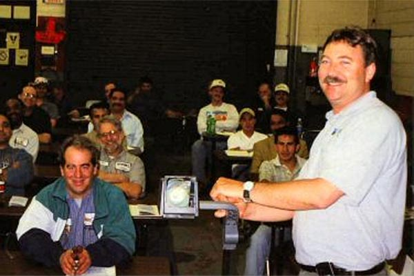 Emissions inspector training (State of Virginia photo)