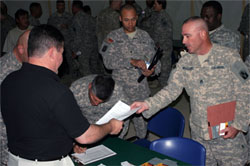 servicemembers at job fair 250x166