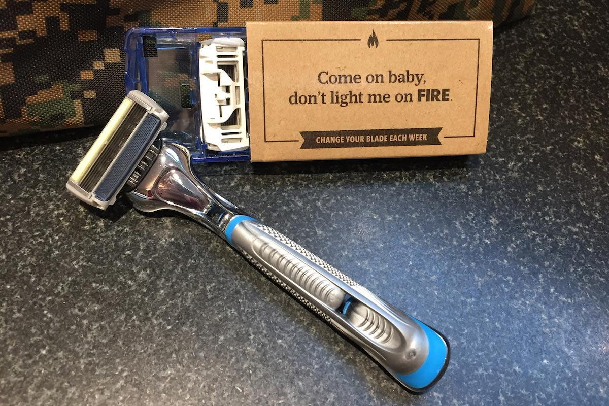 Dollar Shave Club: Shave tools unboxed
