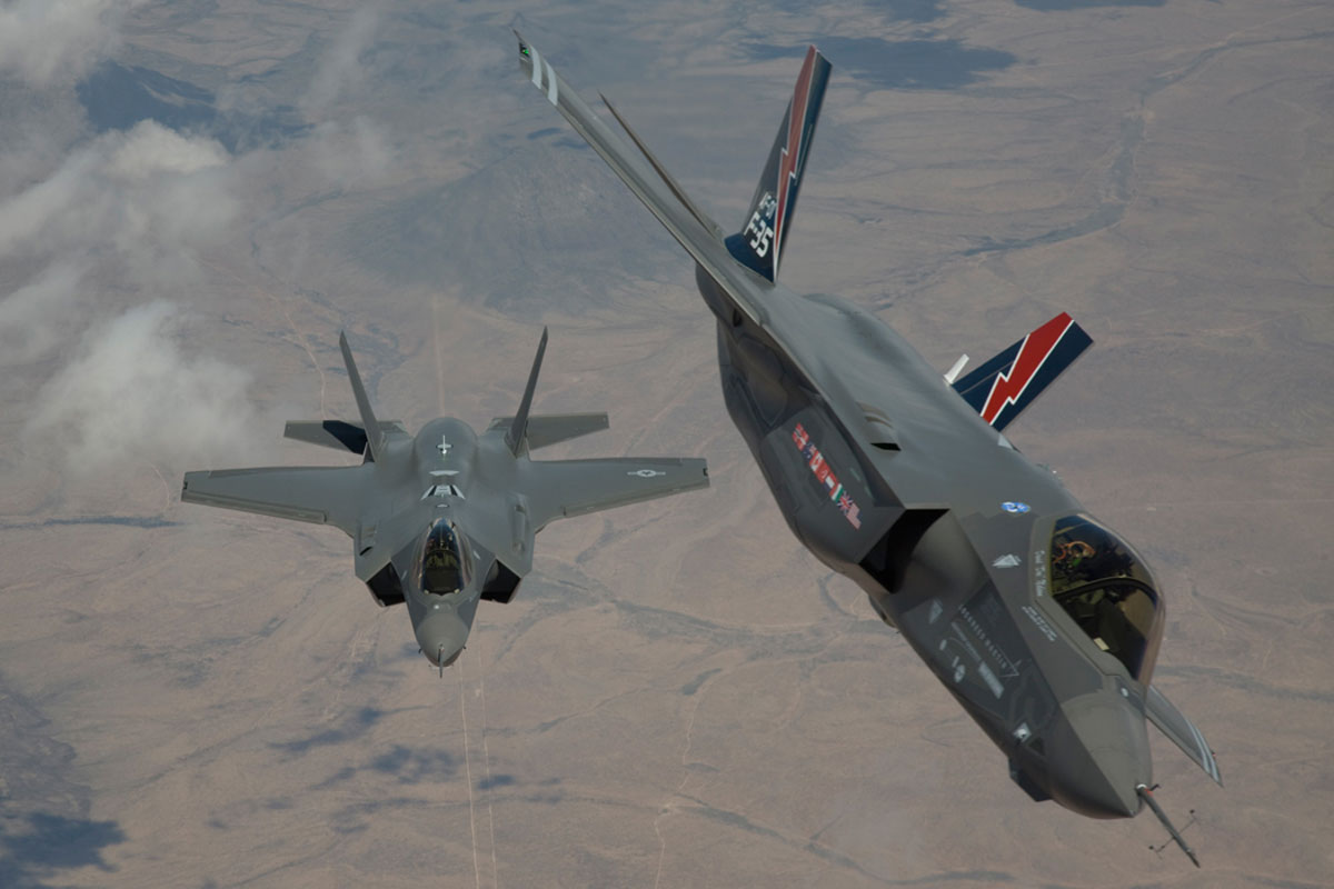 Secretary of the Air Force acknowledges wide range of problems with the F-35