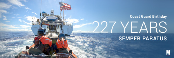 Coast Guard Birthday 2017: 227 Years