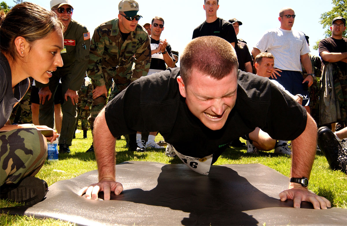 navy physical fitness test