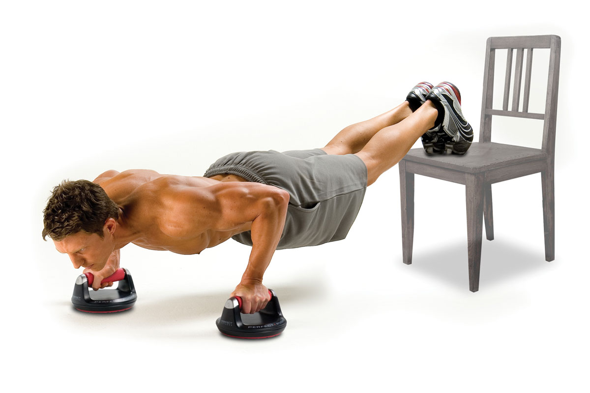 Perfect Pushups with Perfect Pushup