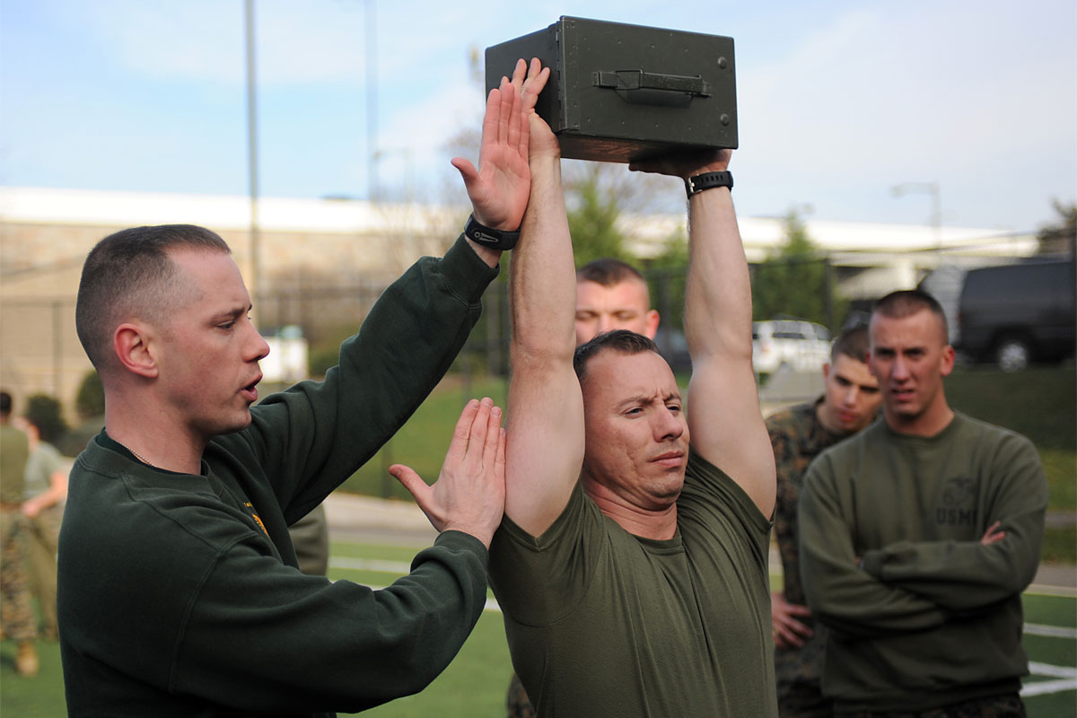 Marine Corps Combat Fitness Test (CFT)