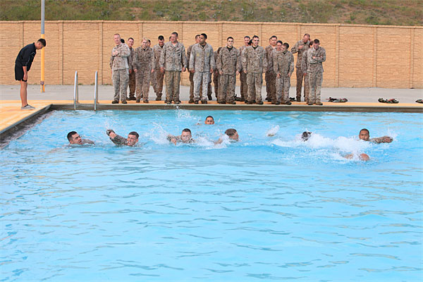 Swim, Technique, and Skills Day | Military.com