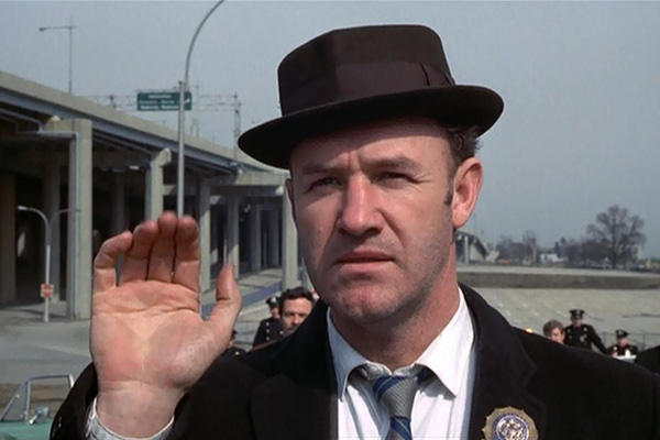 "Gene Hackman in the ""French Connection."""